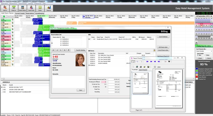 time share, budget hotel system, motel management software